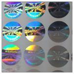 Etiqueta feita em guangzhou, etiqueta do holograma da anti-falsificação do laser da anti-falsificação do laser em guangzhou