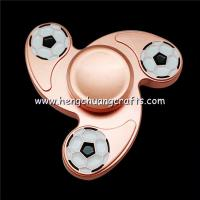 Children Finger Spiral Bearing Fidget Desk Toy Hydro Gear Tri-Spinner Bat Spinners Ring Hand Spinner