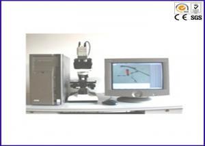 China 1~2000µm Fiber Fineness Composition Analyser Textile Testing Equipment for Fiber Diameter on sale