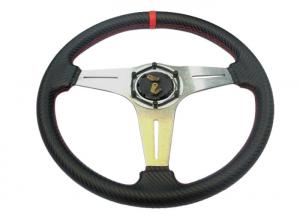 China Security Race Car Steering Wheel With Environmental Protection Material on sale