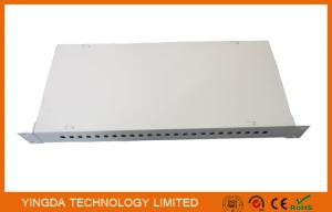 China Optical Distribution Frame Rack Mounted 24 Cores FC SC LC ST Fiber Optic Patch Panel on sale