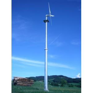 China 5000W On Grid Minimal Vibration And Low Noise Operation Wind Turbine For Remote on sale