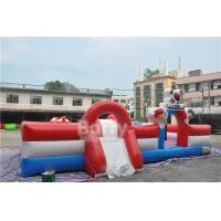 Custom Inflatable Playground , Special Inflatable Fun City Boxing Bull Theme