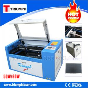 China Triumph 50W 60W laser cutting machine Co2 laser cutter engraver mini laser engraving machine for wood acrylic leather on sale
