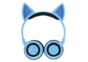 China Deep Base Sound Wireless Stereo Headphones Blue Color 40MM Speaker on sale