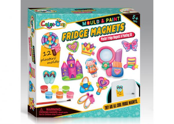 Plaster Beauty Set Arts And Crafts Toys