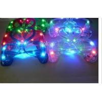 customized logo swans shape LED flashing toys , plastic LED party glasses FA12093