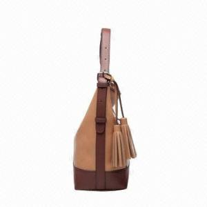 China Multi-Function Lady PU Leather Shoulder Bag Shoulder Bag With Tassels on sale