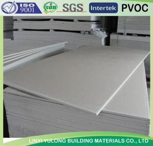 China placa /plasterboard do drywall da gipsita do produto da fábrica com o papel enfrentado on sale
