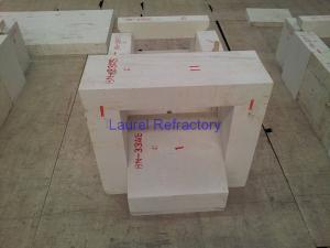 Quality Fused Zircon Corundum Refractory Brick Erosion Resistance ISO9001 for sale
