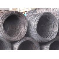 SAE1006 Steel Wire Rod , SAE1008 10mm Steel Wire for Cold Drawing Nail Making and Building Material
