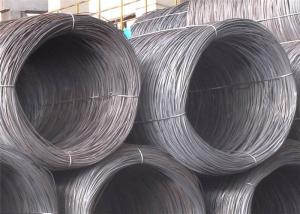 China SAE1006 Steel Wire Rod , SAE1008 10mm Steel Wire for Cold Drawing Nail Making and Building Material on sale