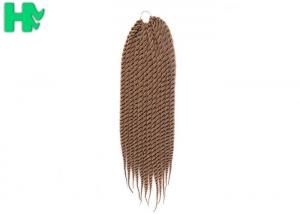 China Mixed Color Synthetic Hair Pieces Twist Braiding Hair Crochet For Black Women on sale