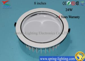 China 24W Epistar LED Down Light Fixtures With CE, RoHS on sale