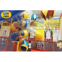 China Small Playground Equipment Slides , Amusement Parks Indoor Kids Play Slide on sale
