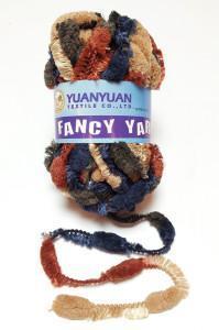 China Polyester Fancy Yarn Hand Knitting Yarn on sale