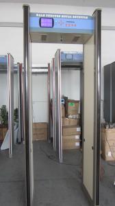 China Walk-through Metal Detector,Door frame metal detector, JLS-8018(18 Zones&LCD display) on sale