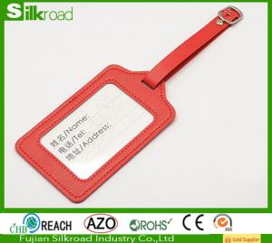 China PU leather promotion luggage tag for travel,Baggage Tag,Selling luggage tag on sale