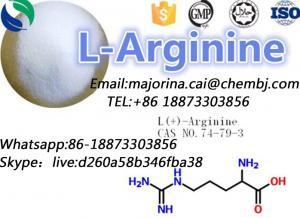 China L-Arginine Promote Wound Healing Nonessential Amino Acid CAS 74-79-3 on sale