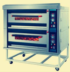 China Professional Stainless Steel Electric Oven , Easy Maintenance Deck Baking Oven supplier