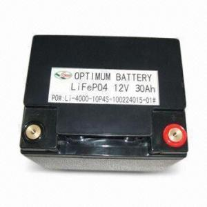 China Environmental Lifepo4 Rechargeable Battery Pack High Capacity 12v 30ah on sale