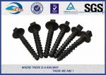 China ZhongYue rail screw spikes railway fasteners 4.6, 5.6,8.8,10.9 grade wholesale