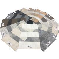 High Quality Horizontal Pattern Eco-friendly Sunscreen Drape Zebra Blind Fabric