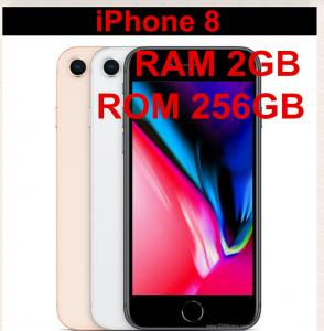 China New Unlocked Mobile iPhone 8 256gb  LTE 4.7 inch Hexa Core IOS A11 12MP RAM 2GB ROM 256GB Fingerprint on sale