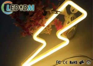China 6*12mm Mini Flexible LED Neon Light Silicone Material Low Voltage 12V / 24V Optional on sale