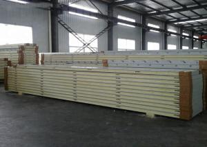 China Cold Storage Room Sandwich Panel , Insulation Insulated Panels SGS Certification on sale