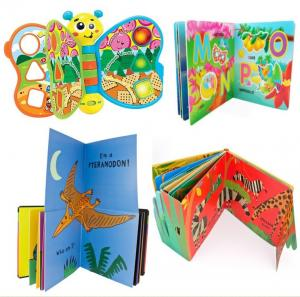 China 8'' X 8'' Custom Magnetic Bookmarks , Hardcover Board Children Story Books on sale