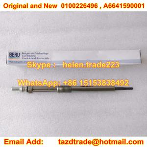 China Original and New BERU Glow Plug 0100226496 / A6641590001 / 6641590001 on sale