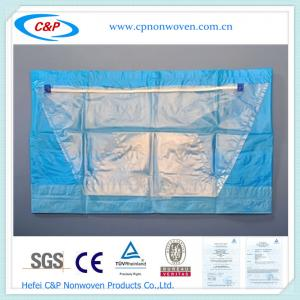 Quality Disposable Hip Drape With Collection Pouch for sale