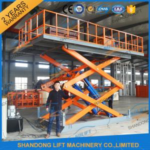 China 4.7M 3T Hydraulic Scissor Car Lift , Electric Car Parking Lift CE TUV SGS Home Use on sale