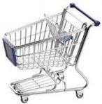O supermercado do OEM caçoa a série HBE-K-6 do trole da compra com correia de segurança