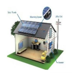 Quality 3kw Solar Power System Kit , Eco - Friendly Solar Power Equipment AC And DC Output for sale