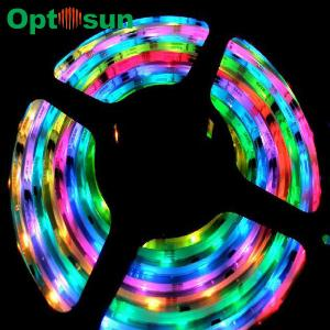 China SMD 5050 12 / 24V DC IP67 Waterproof RGB Led Rope Light 1080mA - 1200mA on sale