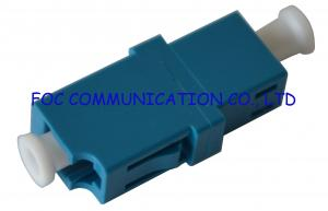 China Fiber Optic Adapter LC SM Simplex Zirconia Ceramic Sleeve High Stability on sale