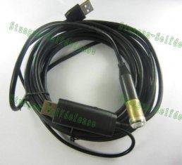 Quality 5M 4 LED E-03の防水USBワイヤー ヘビの点検カメラ for sale