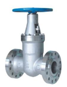 China Pressure Seal Gate Valve Flexible Wedge Solid Wedge Full Port Design on sale