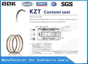 China KZT PTFE Wear Ring Seal Bronze Hydraulic Cylinder Seals High Performance on sale