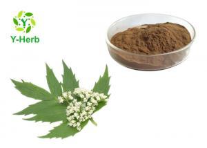 China Valeriana Officinalis Valerian Root Extract Powder 0.3% 0.8% Valeric Acid on sale