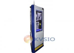 China Anti-vandalism water-proof 3 Sides Interactive Touch Screen Outdoor Kiosk on sale