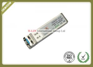 China SFP Fiber Module / SFP Fiber Optic Transceiver For 10GBase-ZR/ZW 10G Ethernet on sale