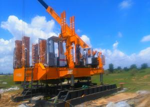 China High Speed Hydraulic Press In Pile Driver , Pile Foundation Equipment on sale