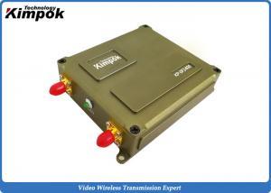 China Miniature UAV Video Link 1 Watt 40km LOS FHSS Data Link 10MHz Bandwidth on sale