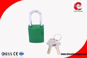 China ZC-G64 Aluminum Safety Lockout Padlocks Stable Paint Coating Surface on sale