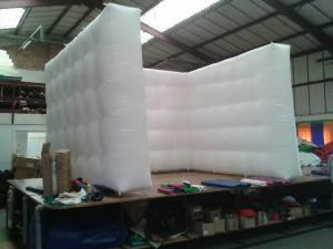 China inflatable cube wall office supplier