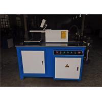 China Busbar Aluminum / Copper Cutting Machine , Busbar Fabrication Machine with Wheel on sale