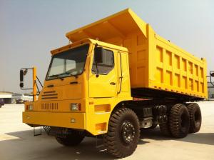 China Professional 6x4 Heavy Duty Dump Truck , 50 Ton Dump Truck 336Hp For Mining on sale